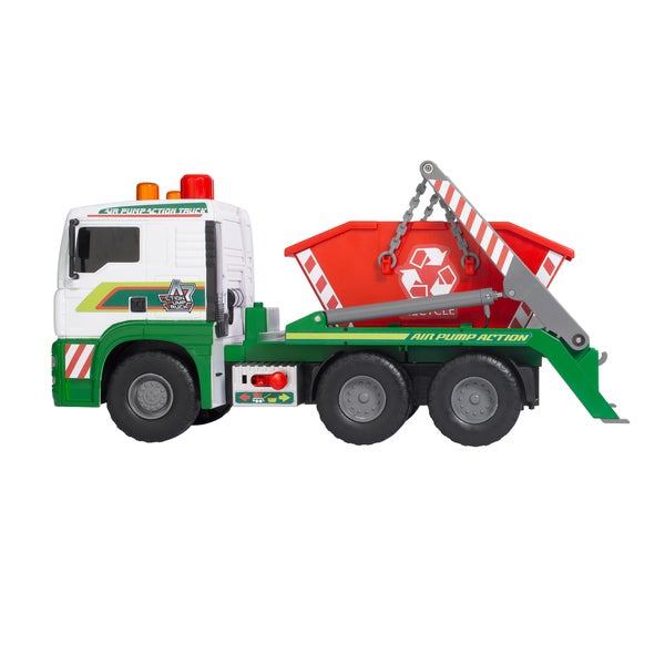 Dickie Toys 19-Inch Air Pump Container Truck