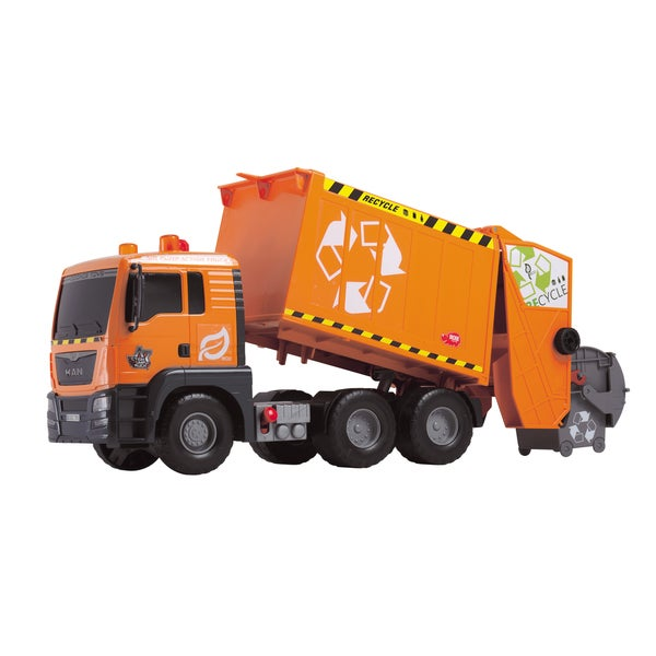 Dickie Toys 21-Inch Air Pump Garbage Truck