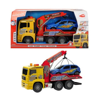 Dickie Toys 21-Inch Air Pump Tow Truck
