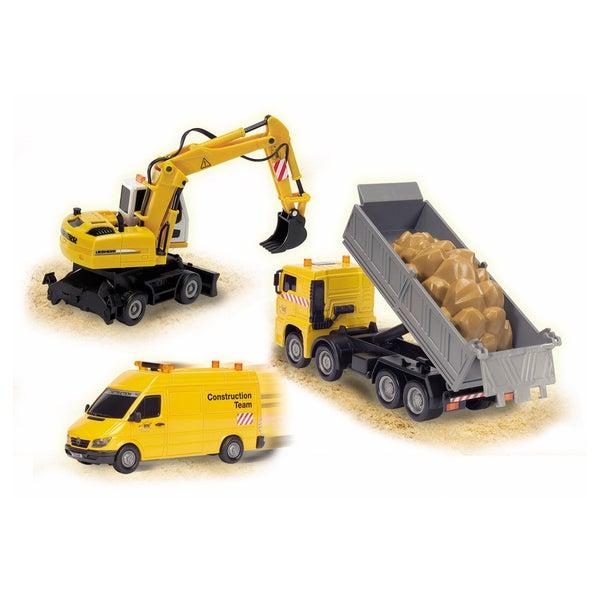 Dickie Toys Construction Team Excavator