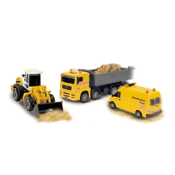 Dickie Toys Construction Team Loader