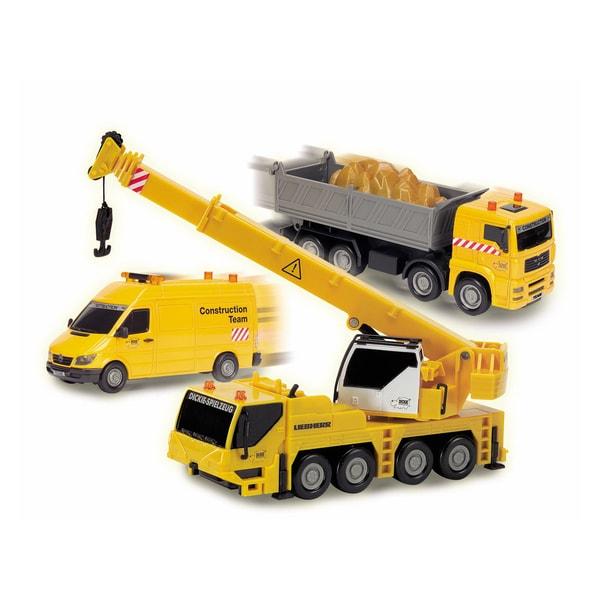 Dickie Toys Construction Team Crane Truck