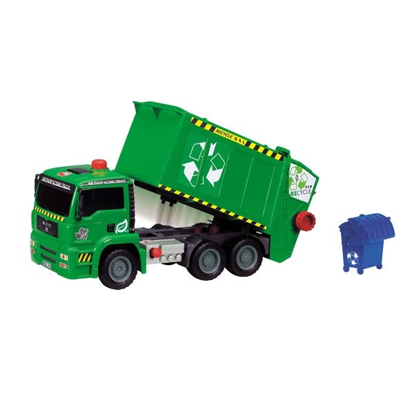 Dickie Toys 12-Inch Air Pump Garbage Truck. Opens flyout.