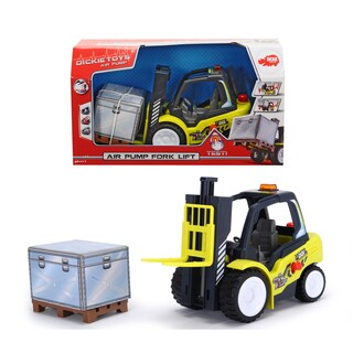 Dickie Toys 10-Inch Air Pump Fork Lift