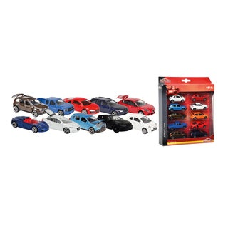 Dickie Toys 10 Pack Majorette Cars