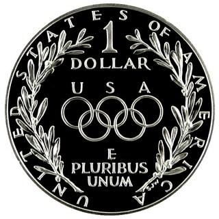 American Coin Treasures Olympics Seoul Silver Dollar