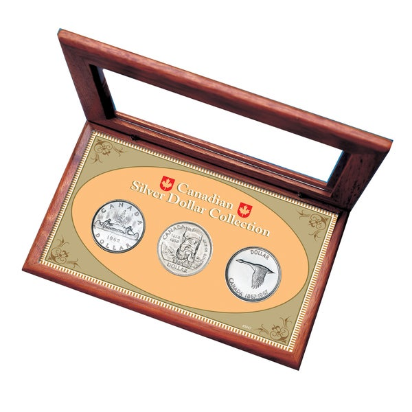 American Coin Treasures Canadian Silver Dollar Box Set