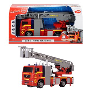Dickie Toys International City 12-Inch Fire Engine