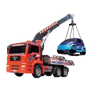 Dickie Toys 12-Inch Air Pump Crane Truck