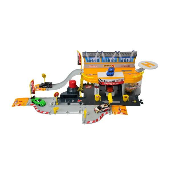 Dickie Toys Majorette Racing Pitstop
