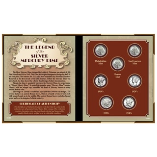 American Coin Treasures Legend of the Silver Mercury Dime