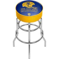 VAF Philadelphia Bell Padded Swivel Bar Stool