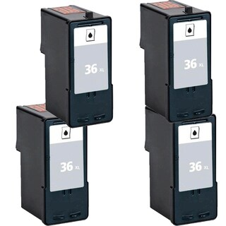 4PK 18C2170 (#36) Compatible Ink Cartridge For Lexmark X3650 Lexmark X4650 Lexmark X5650 ( Pack of 4 )