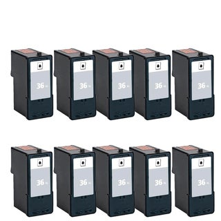 10PK 18C2170 (#36) Compatible Ink Cartridge For Lexmark X3650 Lexmark X4650 Lexmark X5650 ( Pack of 10 )
