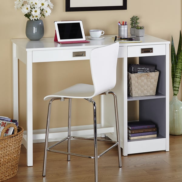 Simple Living Terri Counter Height Desk Dining Table