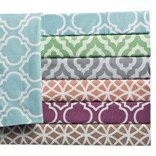 Home Fashion Designs Arabesque Collection Super Soft Double Brushed Microfiber Printed Luxury Sheet Set