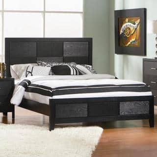 black bedroom sets for less