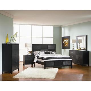 Clay Alder Home Fremont 6-piece Modern Black Bedroom Set