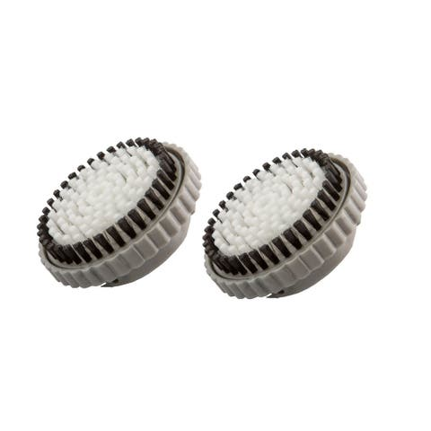 Brushmo Replacement Brush Heads for Body (Pack of 2) - Black