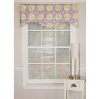 Canne Shaped Medallion Valance