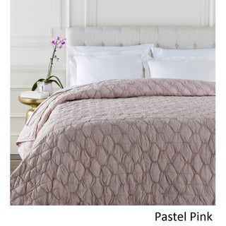 Claire Gathered Cotton Quilt (3 options available)