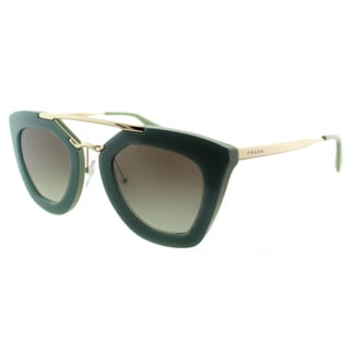 Prada Cinema Women's PR 09QS TKQ4K1 Opal Dark Green Fashion Sunglasses