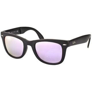 Ray Ban RB 4105 Folding Wayfarer 601S4K Matte Black 50mm Sunglasses