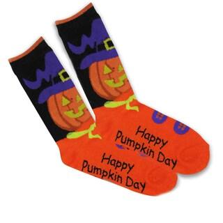 Women's Halloween Crew Sock 1 Pair