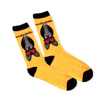 Women's Halloween Bat Crew Knee High Socks