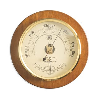 Bey Berk Barometer with Thermometer|https://ak1.ostkcdn.com/images/products/10639915/P17707832.jpg?impolicy=medium