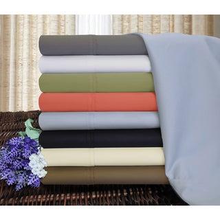 superior thread count deep pocket cotton blend sheet set