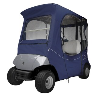 Classic Accessories Fairway The Drive® Yamaha Golf Car Enclosure, Navy