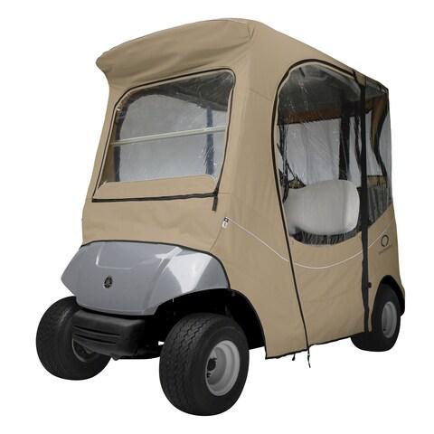 Classic Accessories Fairway The Drive® Yamaha Golf Car Enclosure, Navy