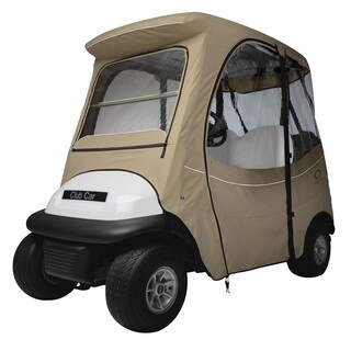 Fairway Fadesafe Club Car Precedent Enclosure, Short Roof, Khaki