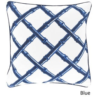 Florence Broadhurst: Decorative Chelsey Lattice 20-inch Pillow