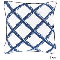 Florence Broadhurst: Decorative Chelsey Lattice 20-inch Pillow