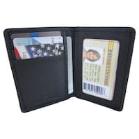 Continental Leather Dual Purpose Front Pocket Wallet