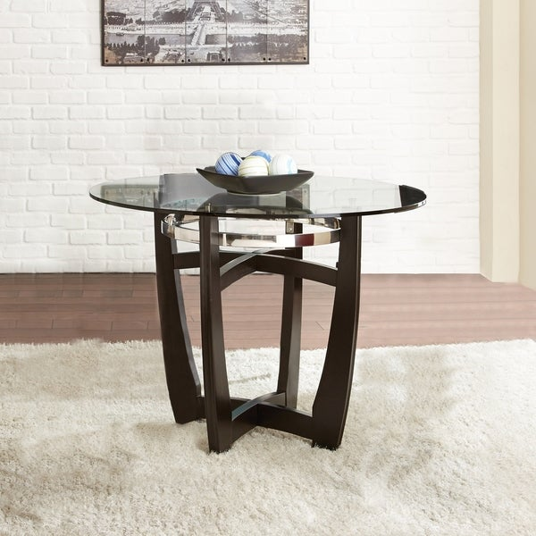 Greyson Living Monoco Counter Height Dining Table - Black