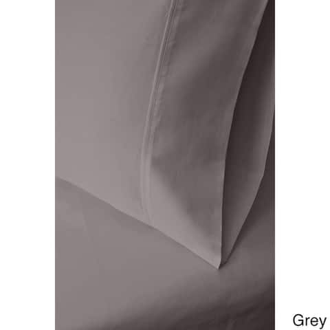 Superior Egyptian Cotton Solid Sateen Bed Sheet Set