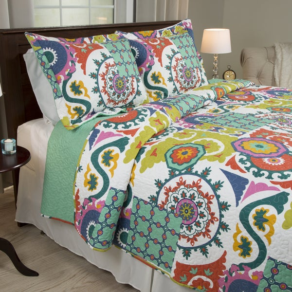 Windsor Home Sybil 3-piece Quilt Set