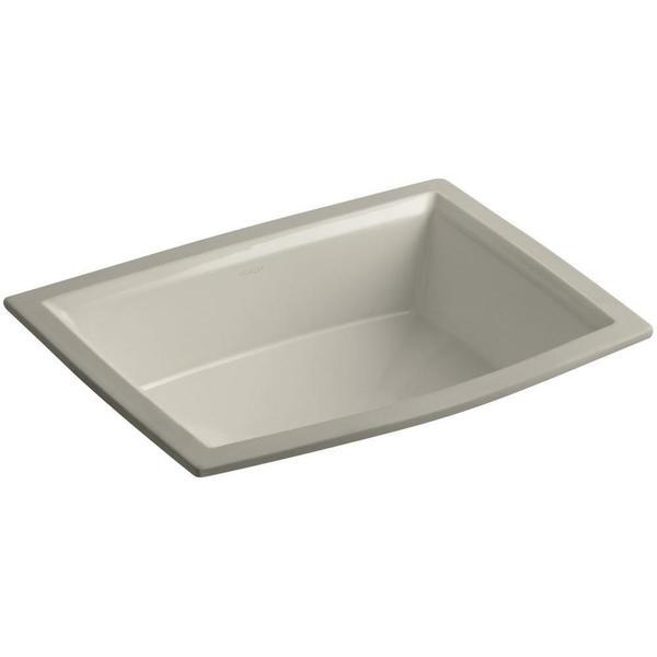 Kohler Archer Undermount Bathroom Sink : Kohler Archer Undermount Bathroom Sink in Sandbar - Free Shipping ...