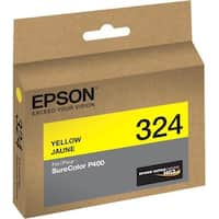 Epson UltraChrome 324 Original Ink Cartridge - Yellow