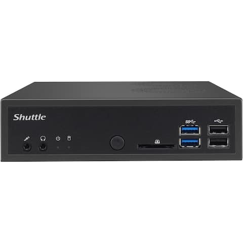 Shuttle XPC DH170 Barebone System Slim PC - Intel H170 Chipset - Socket H4 LGA-1151