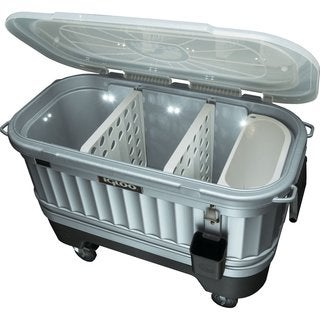 Igloo Party Bar LIDDUP SLV 1P Cooler