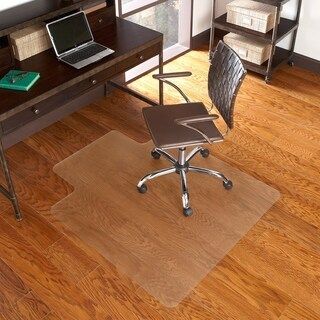 36-inch x 48-inch Hard Floor Chairmat with Lip