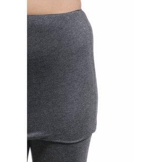 24/7 Comfort Apparel Women's Layered Legging