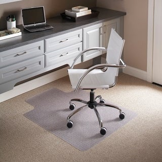 36-inch x 48-inch Carpet Chairmat with Lip