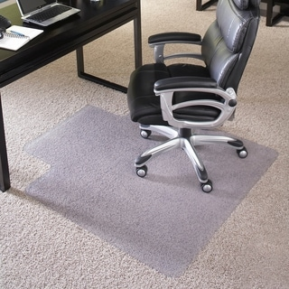 36-inch x 48-inch Big and Tall 400-pound Capacity Carpet Chairmat with Lip