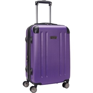 Heritage O'Hare 20-inch Expandable Carry On Hardside 8-wheel Spinner Suitcase