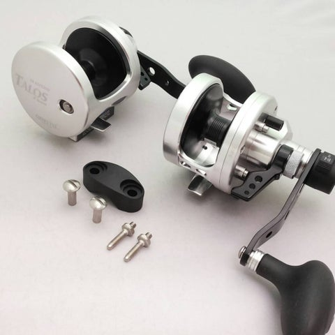 Omoto Talos TS12II Fishing Jigging 25# Drag Wide Reel 2-Speed Ocean/Fresh yellowtail bass tuna
